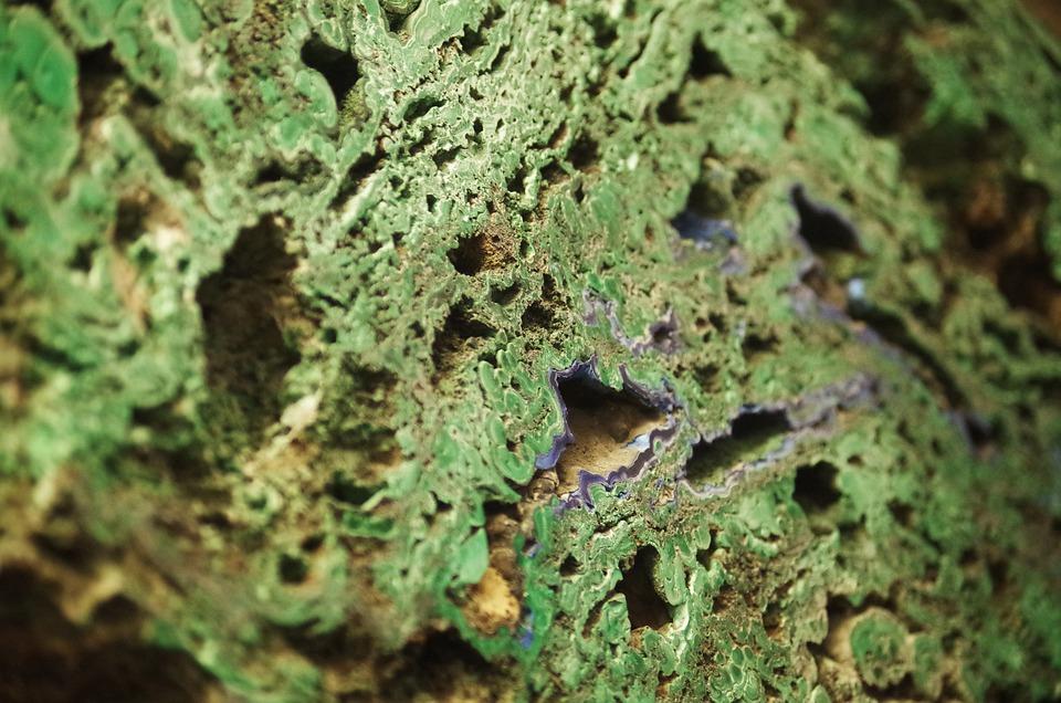 Stone, Minerals, Texture, Pattern, Green