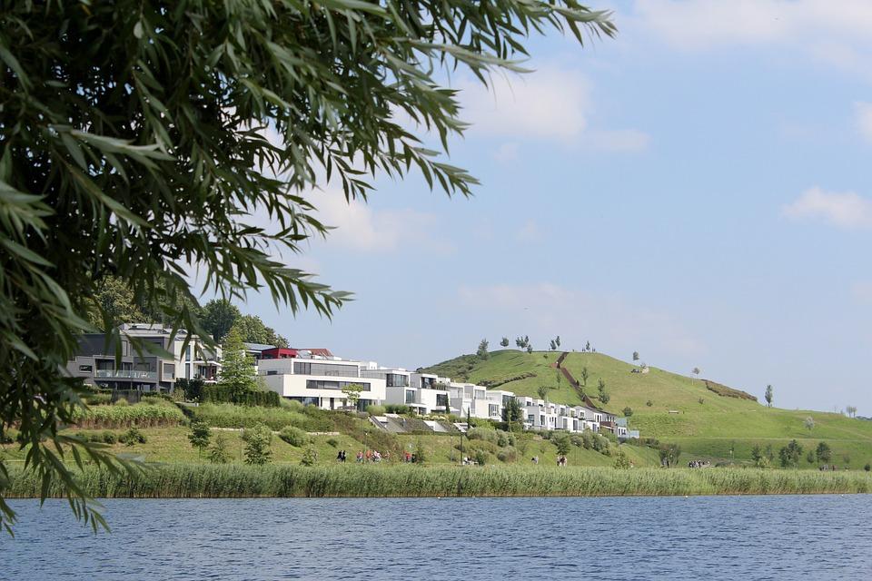 Dortmund, Hörde, Kaiserberg, Phoenix Lake, Green, Idyll