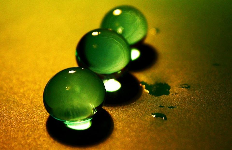 Balls, Ball, Sharpness, Photos, Details, Depth, Green