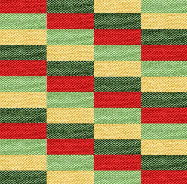 Fabric, Coarse, Texture, Rough, Red, Dark, Green, Pale