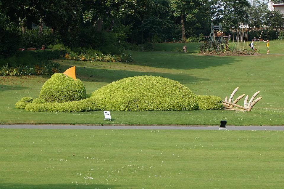 Botanical Garden, Green Space, Nantes, Art