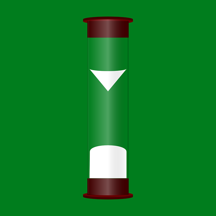 Hourglass, Timer, Time, Wait, Passing Time, Green Time