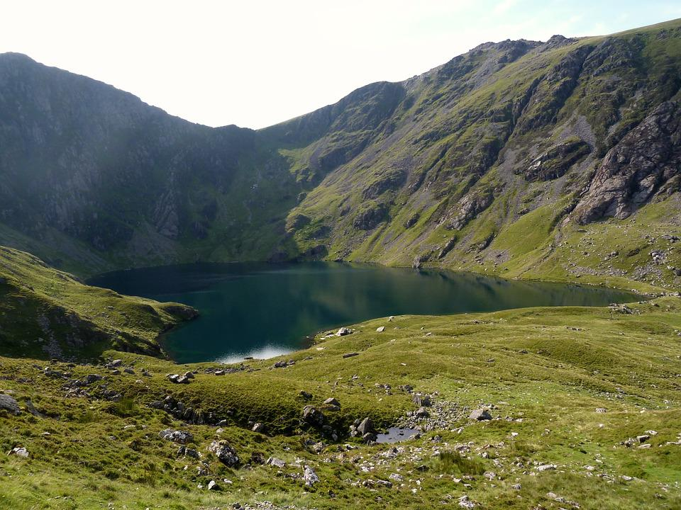 Cadar Idris, Mountain, Snowdonia, Green, Uk