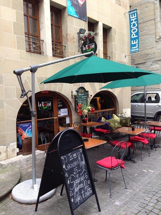 Green, Parasol, Umbrella, Zurich