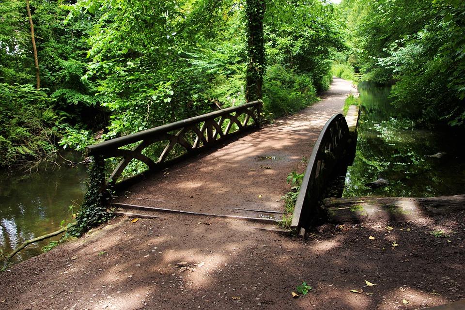 Bridge, Pathway, Outdoor, Green, Path, Nature, Way