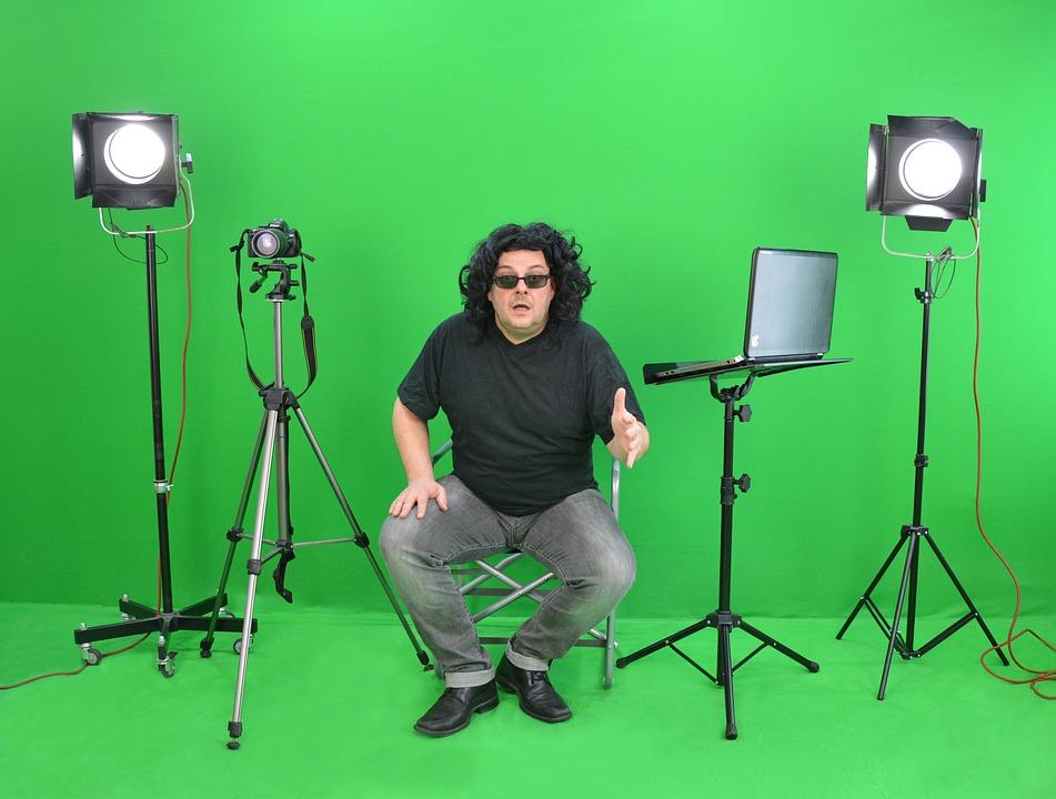 Greenbox, Director, Instruction, Movie Set, Fotoshoot