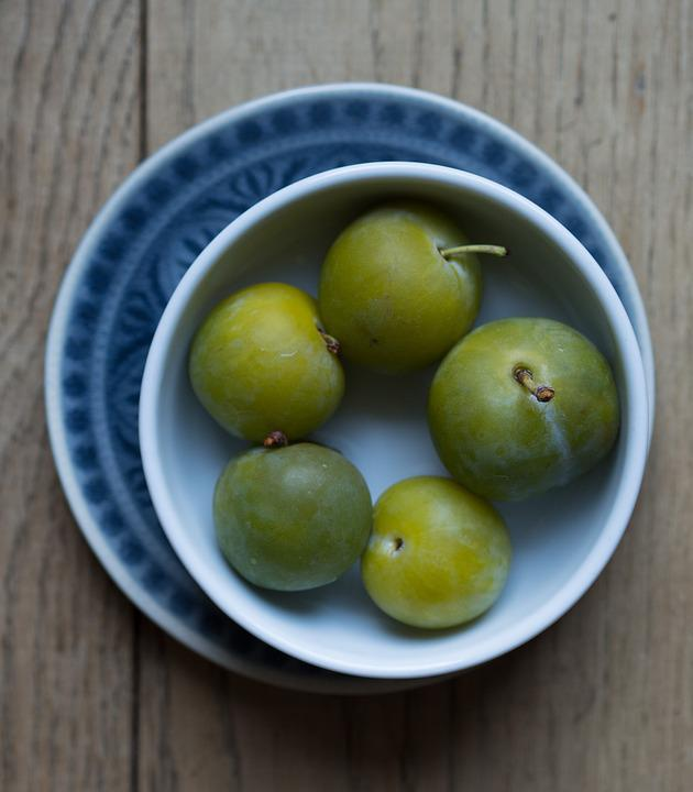 Greengages, Greengage, Yellow Plums, Noble Plum