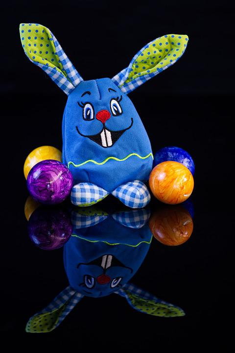 Easter Bunny, Easter Eggs, Easter, Greeting Card