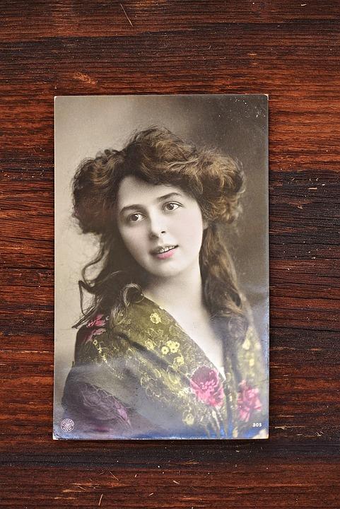Postcard, Polaroid, Greeting Card, Antique, Photo