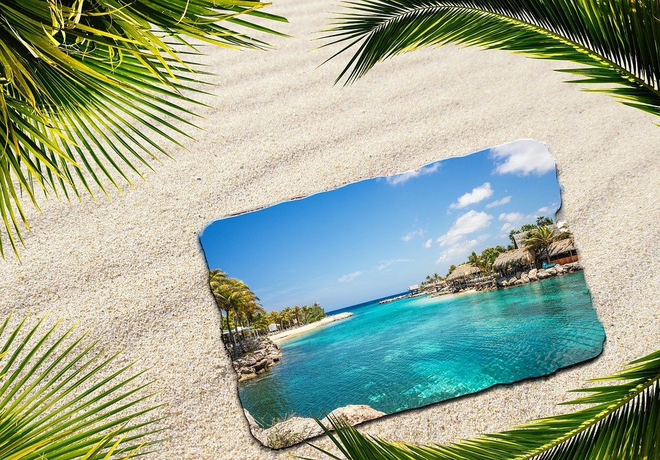 Background Image, Sand, Travel, Greeting Card, Resort