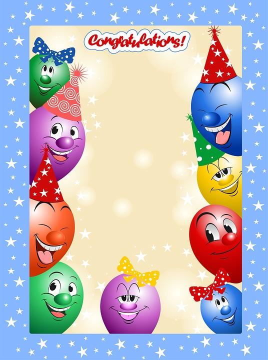 Birthday, Holiday, Ball, Air, Humor, Funny, Greeting