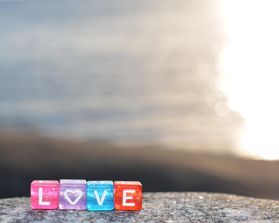 Love, Background, Short, Greeting, Summer Evening
