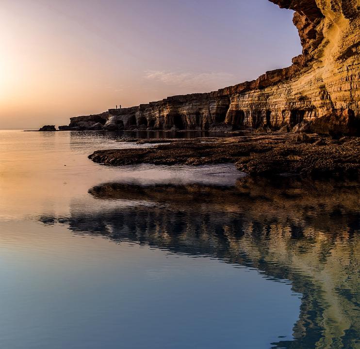 Cyprus, Cavo, Greko, National Park, Sunset Nature