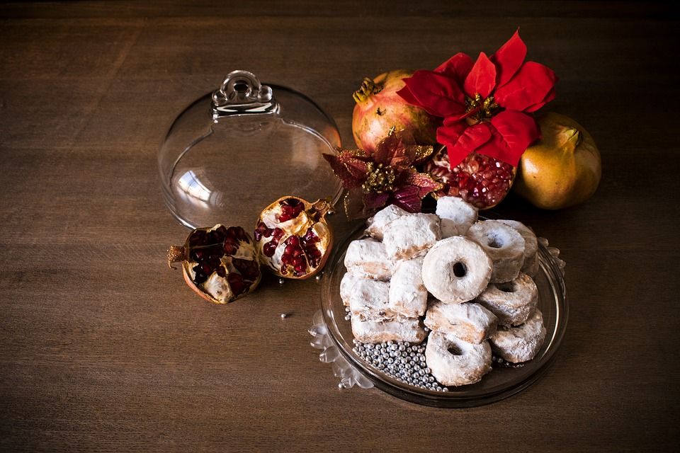 Sweet, Christmas, Grenades, Food, Fruit, Spanish Food