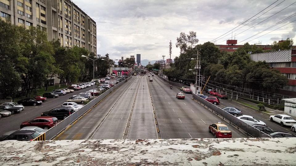 Tlatelolco, City, Grey, Asphalt, Building, Mexico City