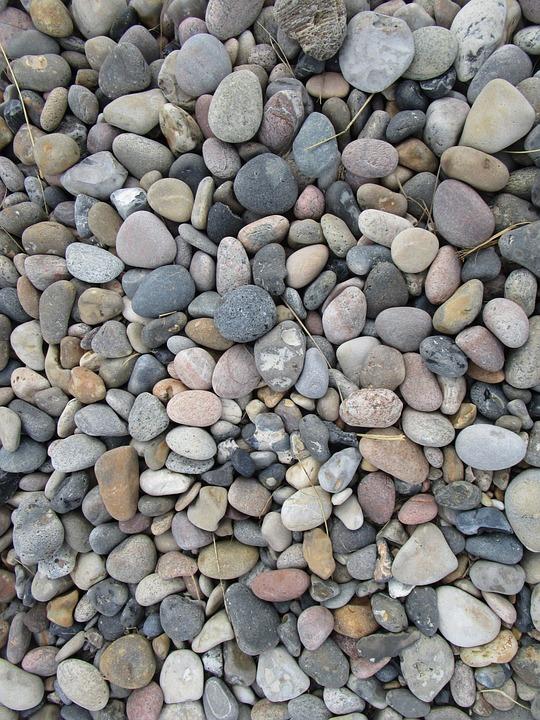 Pebbles, Grey, Stone, Coastline, Natural, Beach