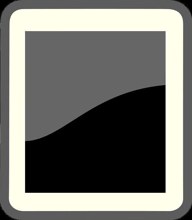Black, Grey, Wave, Contrast, Design, Sign, Symbol