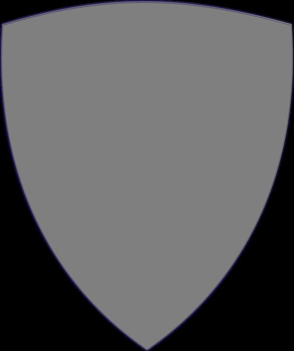 Shield, Grey, Plain, Protect, Defend, Defense