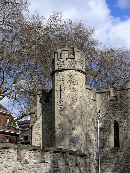 Tower, Tower Of London, London, Wall, Grey, Grey Stone