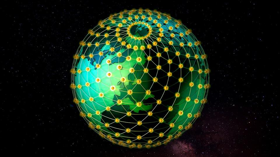 Grid Ball, Globe, Earth, Planet, Triangulation