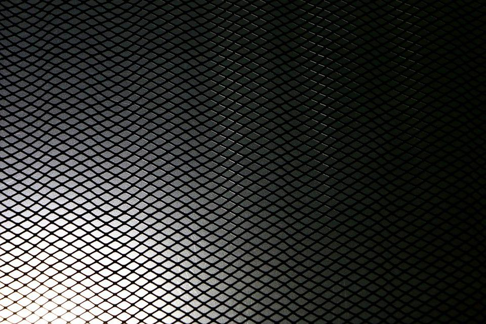 Grid, Structure, Pattern, Metal