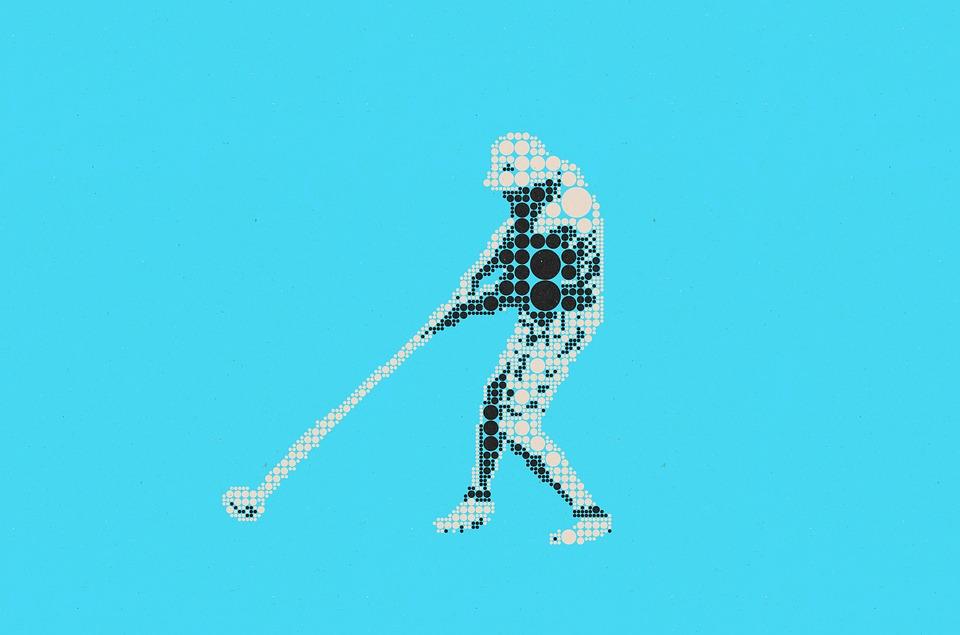 Pictogram, Symbol, Graphic, Grid, Points, Sport, Golf