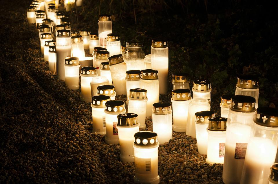 All Saints ' Day, Memorial Candles, Grief