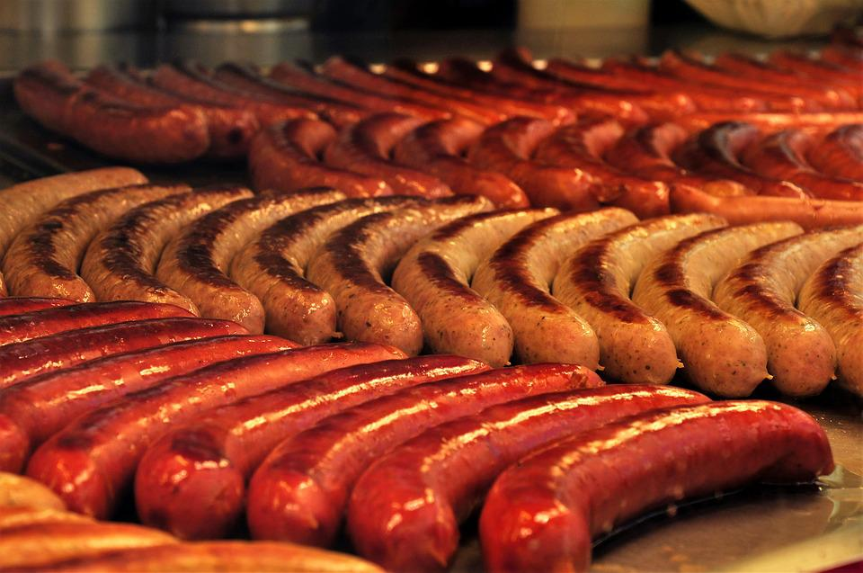 Bratwurst, Grill Sausage, Barbecue, Sausage, Grill