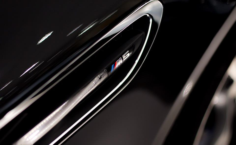 Bmw M5, F10, Bmw, M5, M5 F10, Black, Grill, Badge