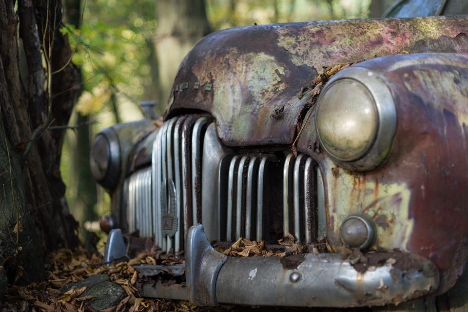 Free photo Grill Car Holden Vintage Junk Yard Classic Car - Max Pixel
