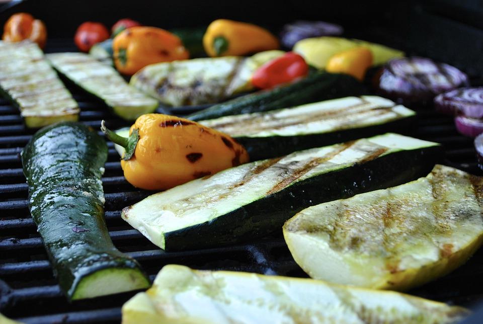 Grilled Vegetables, Grilled, Grilling, Bbq, Summer