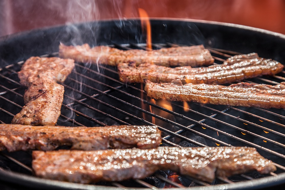 Grill Party, Grilling, Meat, Barbecue, Grilled Meats