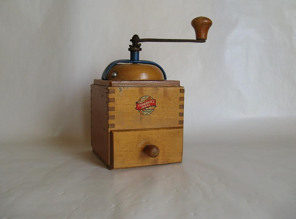 Grinder, Grind, Old, Crank, Coffee, Mill, Nostalgia