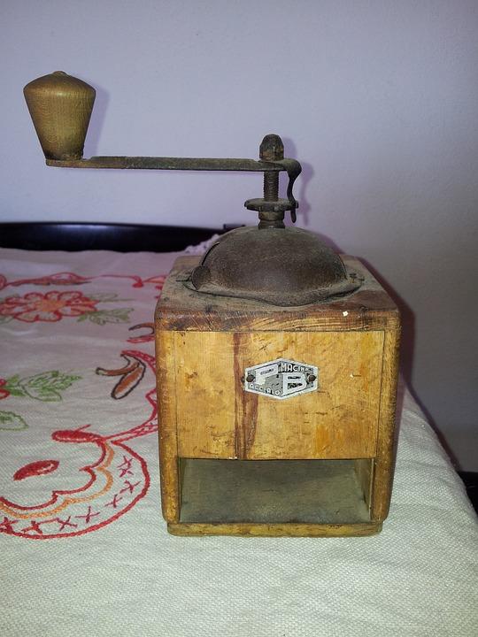 Kitchen, Old, Vintage, Grinder