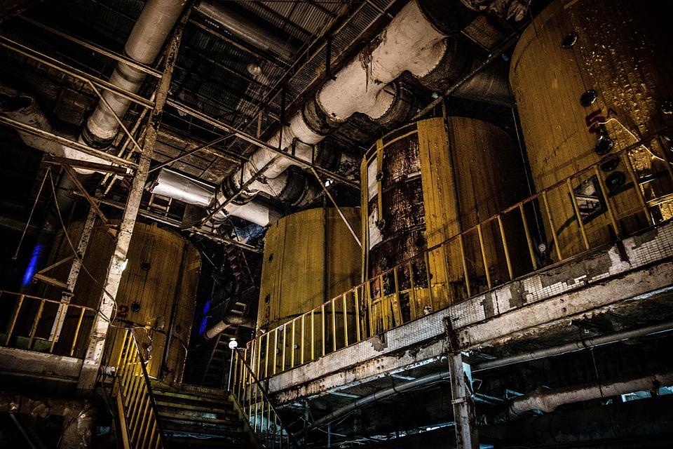 Grinding, Industry, Steel, Abandoned, Iron, Warehouse