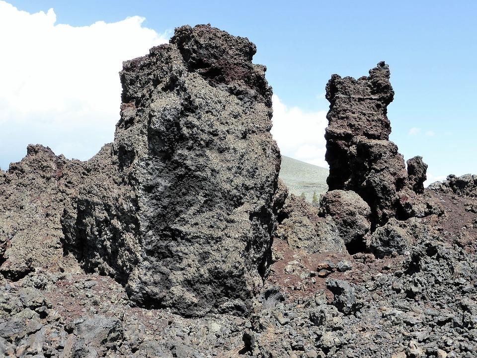 Nature, Lava, Moonscape, Grit, National Park