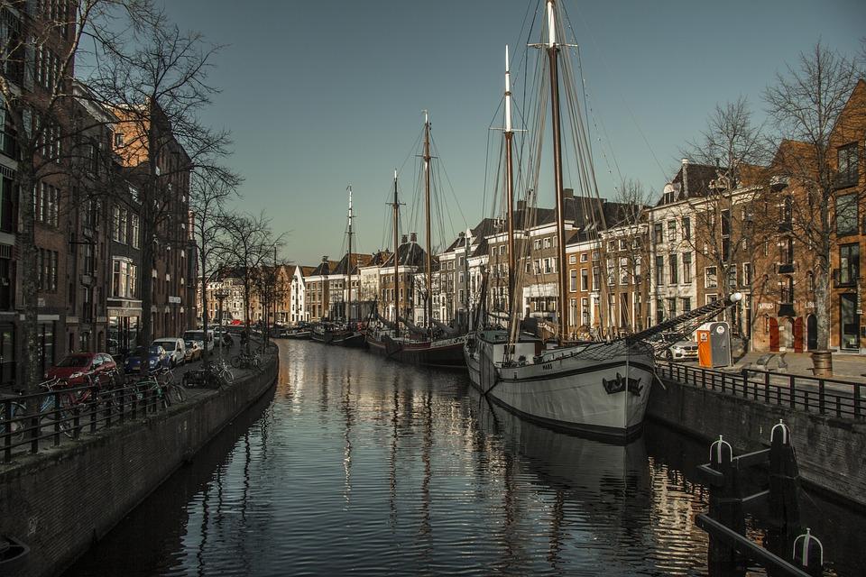 Groningen, Netherlands, Holland, Historical, Old Town