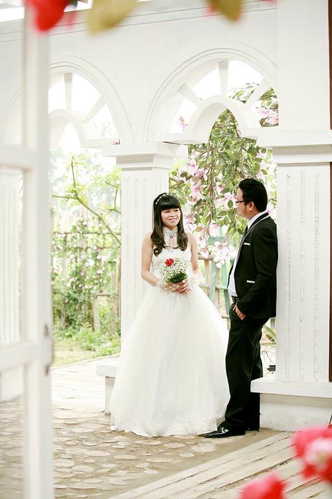 Bride, Groom, Wedding, Wedding Photography, Bridal Gown