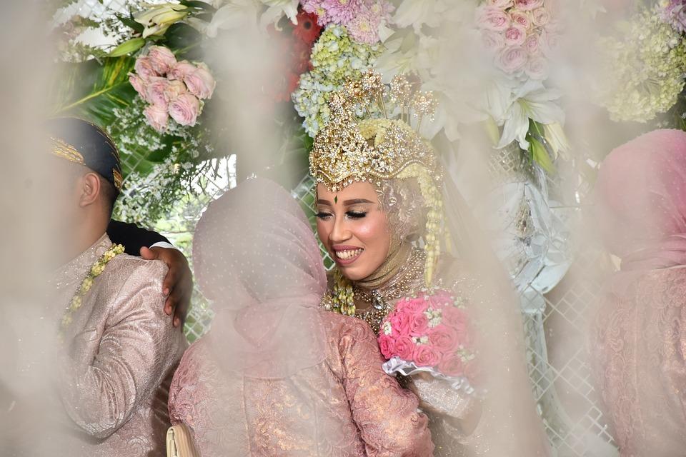 Reception, Hugs, Wedding, Couple, Bride, Groom
