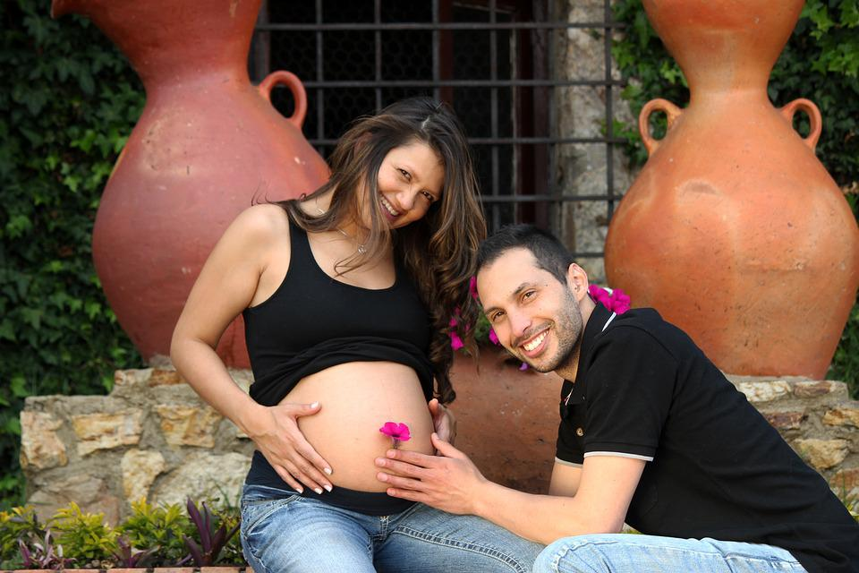 Pregnancy, Birth, Couple, Grooms, Husbands, Romance