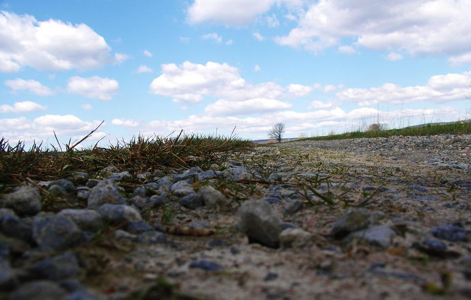 Lane, Pebbles, Ground, Flooring, Steinchen