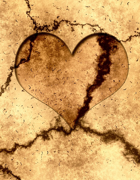 Heart, Dirty, Dirt, Structure, Ground, Earth