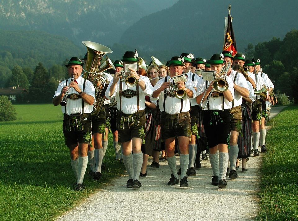 Folk Music, Customs, Group Of People, Costume, Bavaria