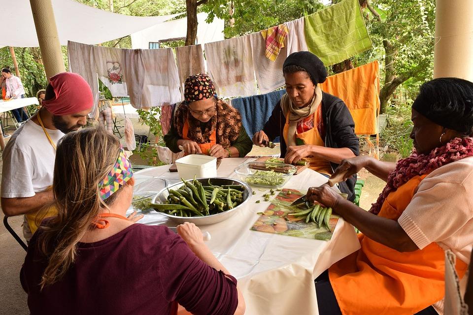 Group, Permaculture, Volunteer, Food, Orange, Nature