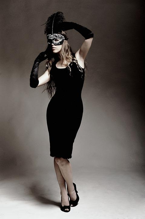 Fashion, Woman, One, Grown Up, Model, Mask, Girl