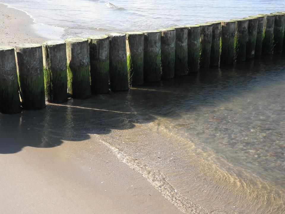 Groynes, Water Structures, Protection Against Erosion