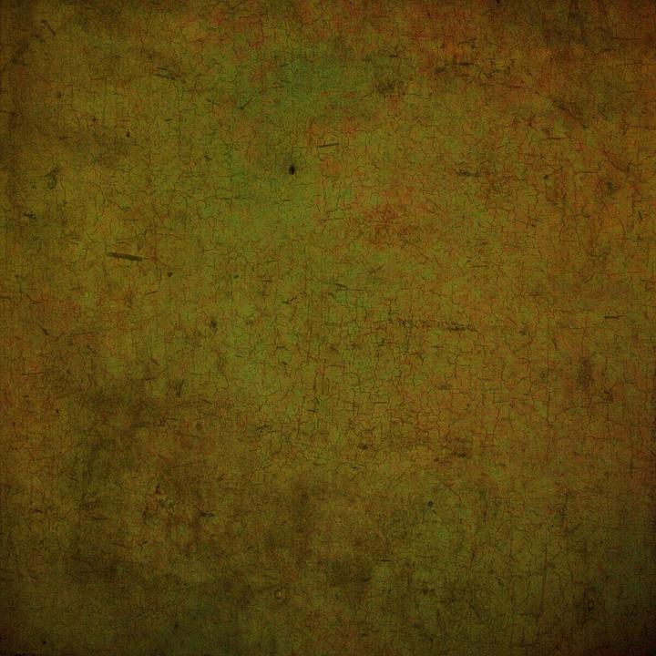 Green, Brown, Grunge, Background, Paper, Digital