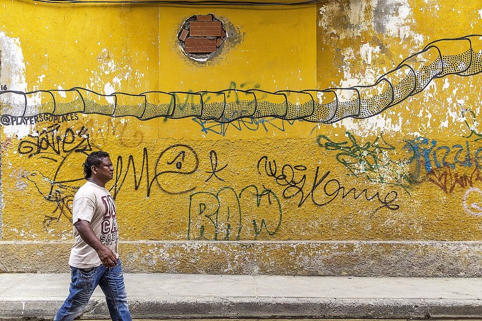 Free photo Grunge Street Art Background Graffiti Graffiti Wall - Max ...