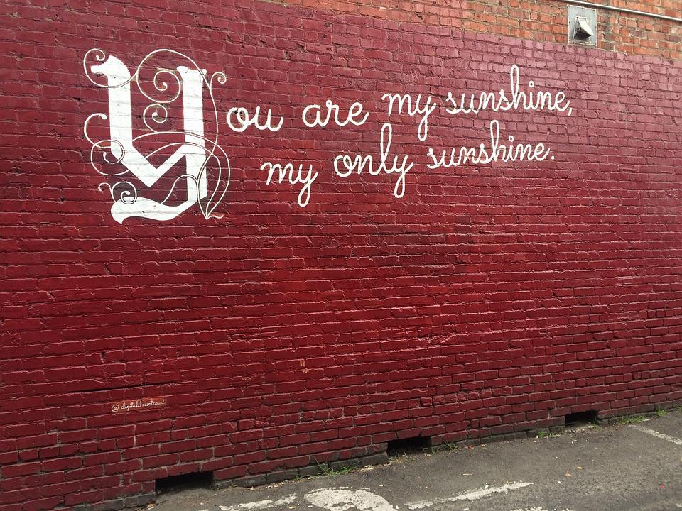 Graffiti, Street Art, Quote, Grunge, Wall, Street