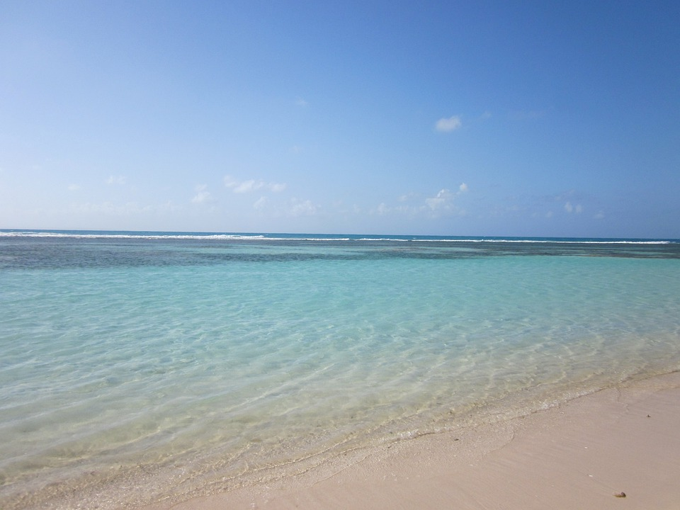 Guadeloupe, Caribbean, Lesser Antilles, Water, Sea